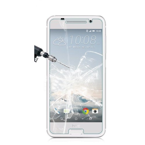 Kılıfshop Htc One A9 Kırılmaz Cam Glass Ekran Koruyucu