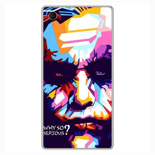 Peoples Cover Sony M4 3D Textured Baskılı Kılıf Pchb711419