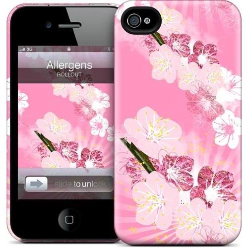 Gelaskins Apple iPhone 4 Hardcase Kılıf Allergens