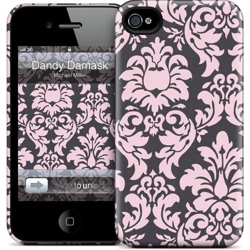 Gelaskins Apple iPhone 4 Hardcase Kılıf Dandy Damask