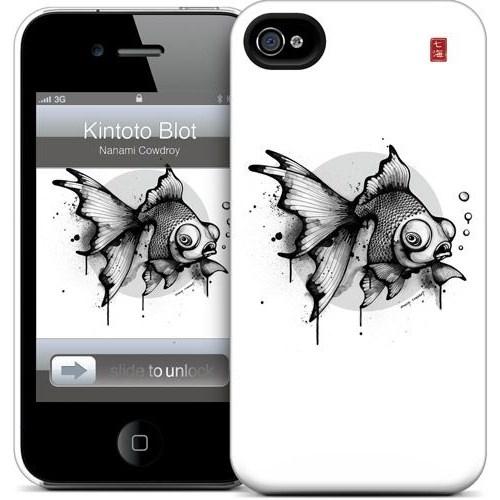 Gelaskins Apple iPhone 4 Hardcase Kılıf Kintoto Blot