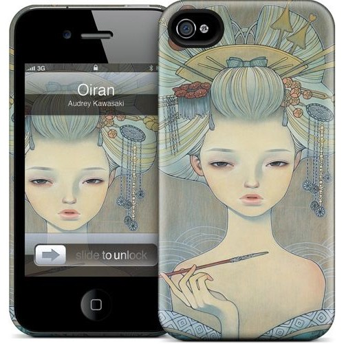 Gelaskins Apple iPhone 4 Hardcase Kılıf Oiran