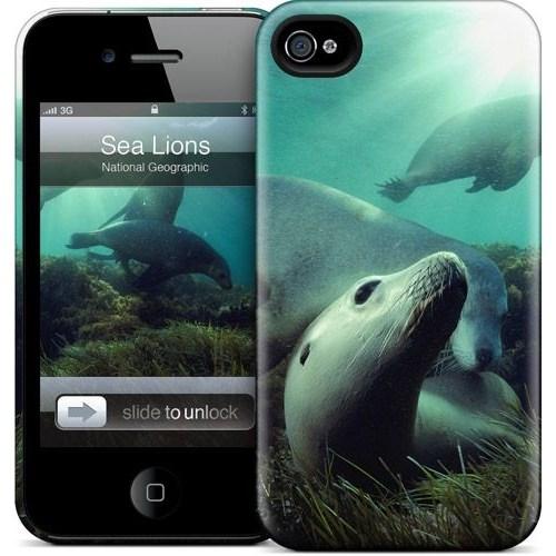 Gelaskins Apple iPhone 4 Hardcase Kılıf Sea Lions