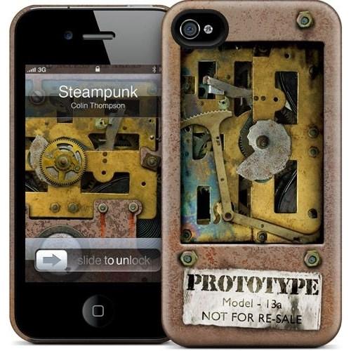 Gelaskins Apple iPhone 4 Hardcase Kılıf Steampunk