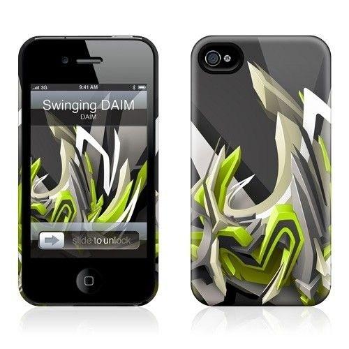 Gelaskins Apple iPhone 4 Hardcase Kılıf Swining Daım