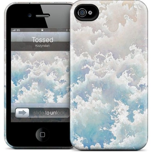 Gelaskins Apple iPhone 4 Hardcase Kılıf Tossed
