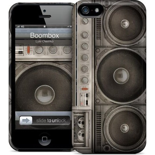Gelaskins Apple iPhone 5 Hardcase Kılıf Boombox