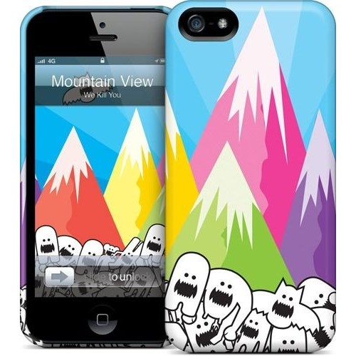Gelaskins Apple iPhone 5 Hardcase Kılıf Mountain View