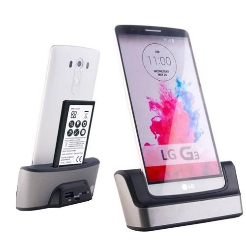 Lg G3 Dock Masaüstü Şarj Aleti Ve Batarya Şarjı