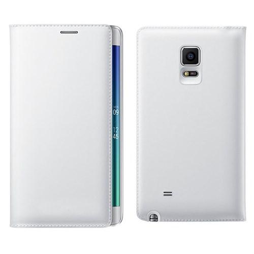 KılıfShop Samsung Galaxy Note Edge Flip Cover (Beyaz)
