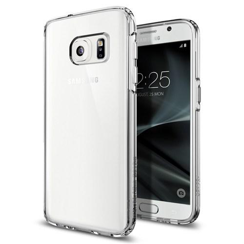 Spigen Galaxy S7 Kılıf Ultra Hybrid Crystal Clear - 555CS20008