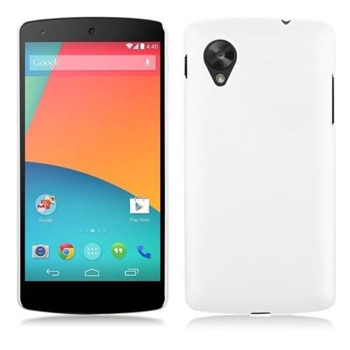 Teleplus Lg Nexus 5 Rubber Kılıf Beyaz