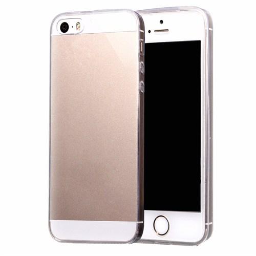Melefoni Apple İphone Se Kılıf Melefoni Silikon 03Mm Şeffaf