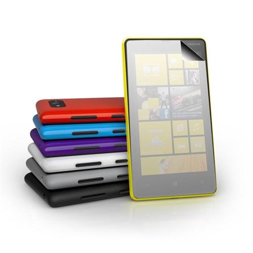 Vacca Nokia Lumia 820 Aynali Ekran Koruyucu Filmi
