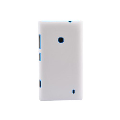 Duck Lumia 520 Plastic Daily Beyaz Kapak