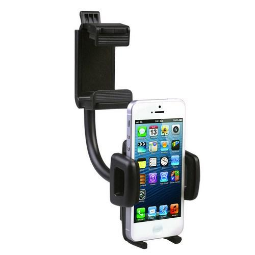 Saywin Universal 360° Hareketli Araç Dikiz Aynası Cep Telefonu Tutucu