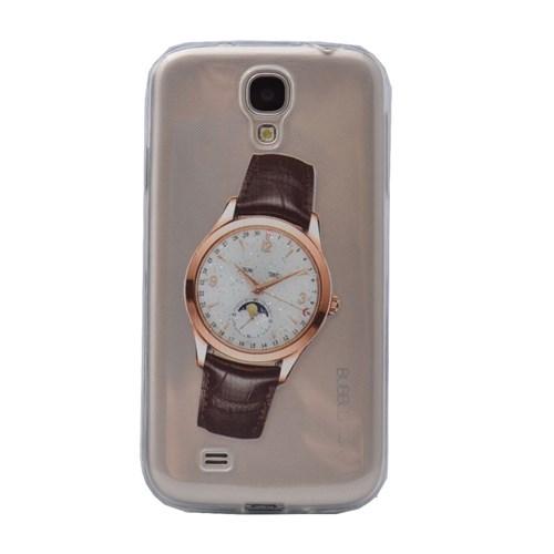 Teleplus Samsung Galaxy S4 Saat Desenli Silikon Kılıf 2