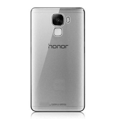 CoverZone Huawei Honor 7 Kılıf 0.3 Mm İnce Silikon Füme
