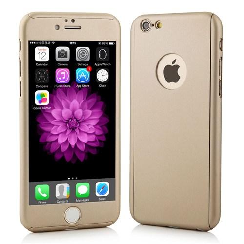 Markaawm Apple iPhone 6 Plus Kılıf 6S Plus Kılıf 360 Derece Koruma