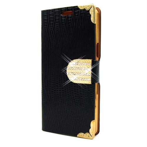 Markaawm Samsung Galaxy S3 Kılıf Rugan Taşlı