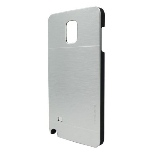 Markaawm Samsung Galaxy Note 4 Kılıf Motomo Metal Kapak