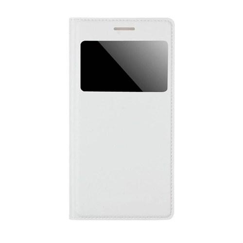 Markaawm Samsung Galaxy Grand 2 Kılıf Flip Cover Deri