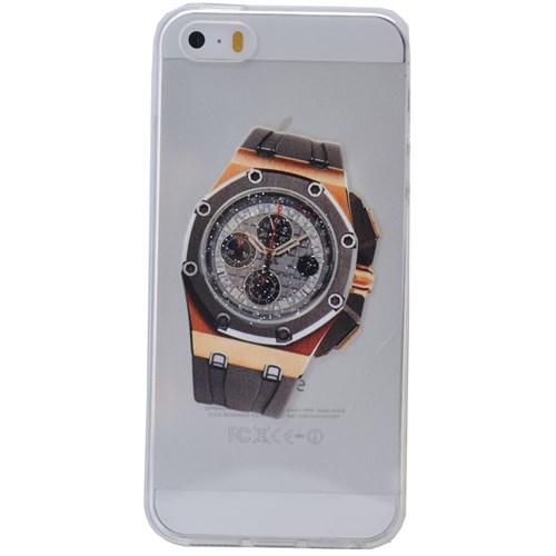 Teleplus İphone 6 Saat Desenli Silikon Kılıf 7