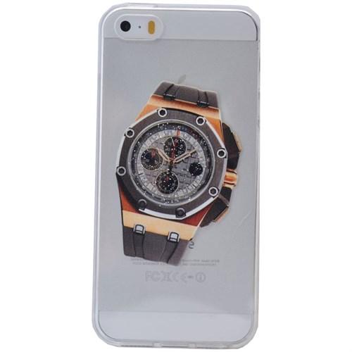 Teleplus İphone 6S Saat Desenli Silikon Kılıf 4