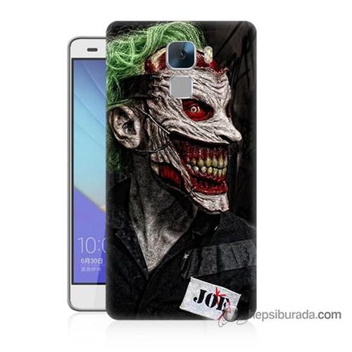 Teknomeg Huawei Honor 7 Kapak Kılıf Joker Joe Baskılı Silikon