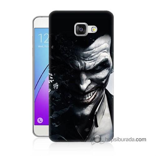 Teknomeg Samsung Galaxy A5 2016 Kılıf Kapak Joker Baskılı Silikon