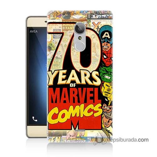 Teknomeg Türk Telekom Tt175 Kılıf Kapak Marvel Karakterleri Baskılı Silikon