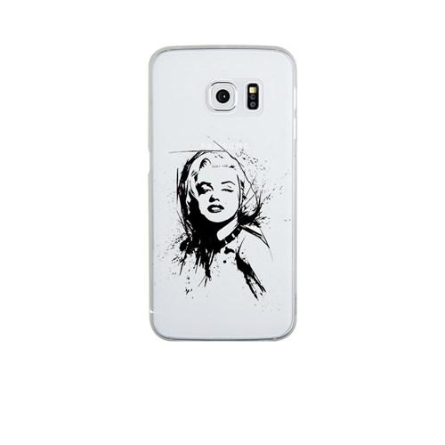 Remeto Samsung S6 Edge Silikon Marilyn Monroe