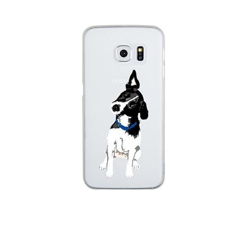 Remeto Samsung S6 Edge Silikon Şaşkın Köpek