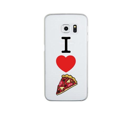 Remeto Samsung S6 Silikon I Love Pizza