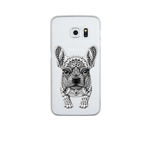 Remeto Samsung S6 Silikon Mozaik Sevimli Köpek