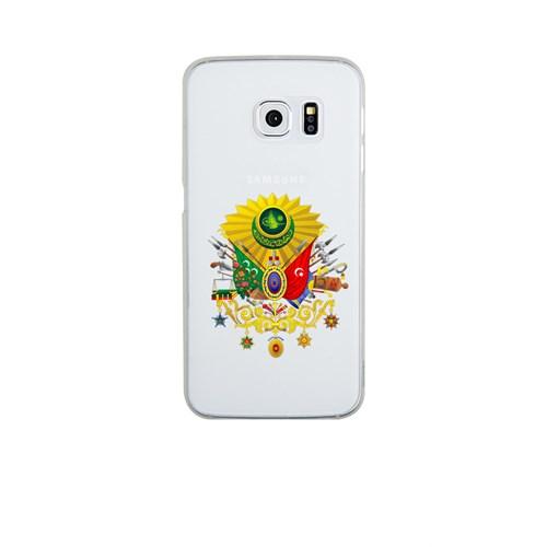 Remeto Samsung Galaxy S6 Şeffaf Transparan Silikon Resimli Osmanlı Tuğrası