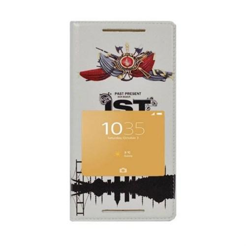 Teleplus Sony Xperia Z5 Desenli Pencereli Kılıf İst