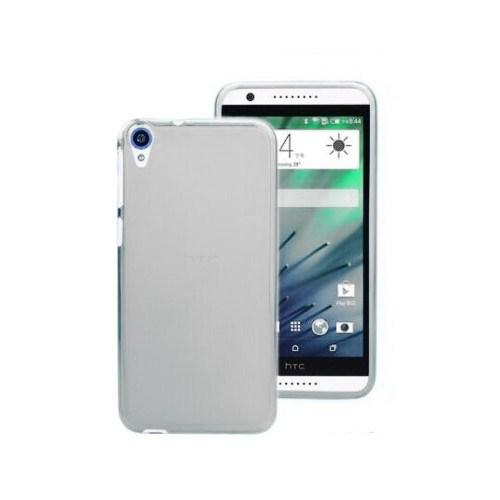 Teleplus Htc Desire 820 Tam Korumalı Silikon Kılıf Beyaz