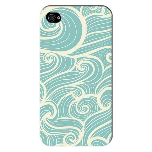 Cover&Case Apple İphone 4 / 4S Silikon Tasarım Telefon Kılıfı Ccs01-Ip01-0030