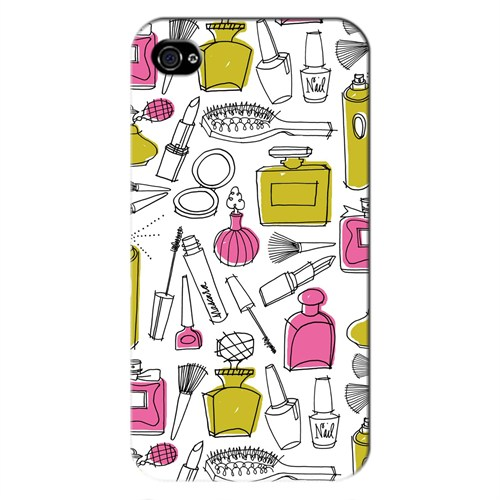 Cover&Case Apple İphone 4 / 4S Silikon Tasarım Telefon Kılıfı Ccs01-Ip01-0164