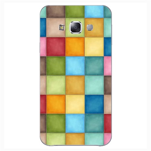 Cover&Case Samsung Galaxy E5 Silikon Tasarım Telefon Kılıfı Ccs02-E01-0021