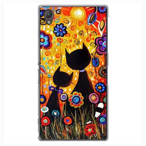 Cover&Case Sony Xperia Z1 Silikon Tasarım Telefon Kılıfı Ccs03-Xz01-0236
