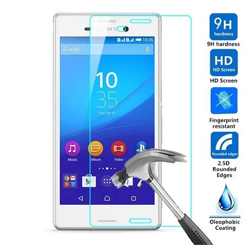 Fonemax Sony Xperia M4 Aqua Kırılmaz Cam Ekran Koruyucu