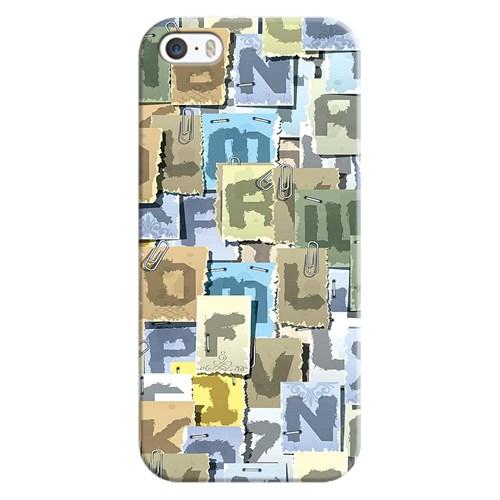 Cover&Case Apple İphone 5 / 5S / Se Silikon Tasarım Telefon Kılıfı Ccs01-Ip02-0026