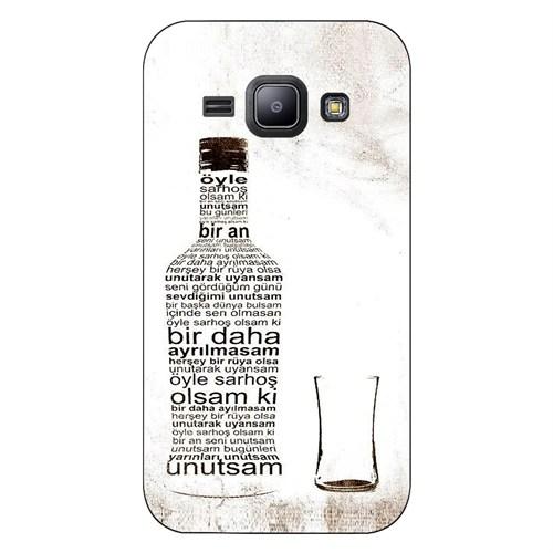 Cover&Case Samsung Galaxy J1 Silikon Tasarım Telefon Kılıfı Ccs02-J01-0128