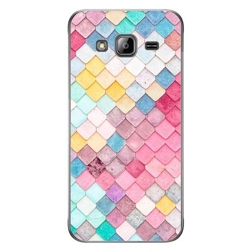 Cover&Case Samsung Galaxy J3 Silikon Tasarım Telefon Kılıfı Ccs02-J03-0028