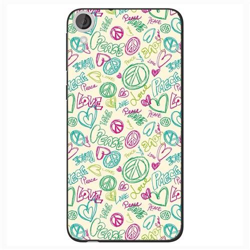 Cover&Case Htc Desire 820 Silikon Tasarım Telefon Kılıfı Ccs05-D04-0088