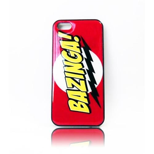 Köstebek The Big Bang Theory - Bazinga İphone 5 Telefon Kılıfı
