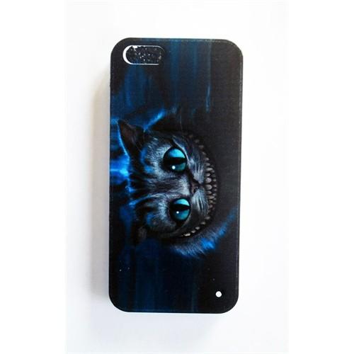 Köstebek Alice In Wonderland - Cheshire İphone 5 Telefon Kılıfı