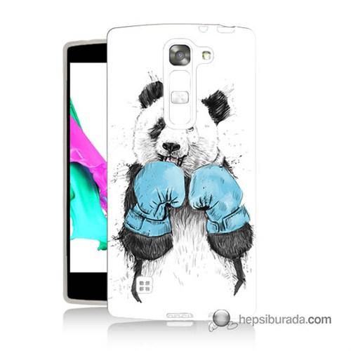 Teknomeg Lg Magna Kılıf Kapak Boksör Panda Baskılı Silikon